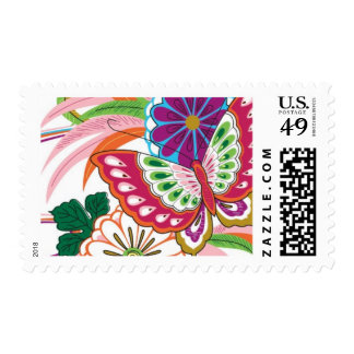 Lotus Butterfly Wings by Ceci New York Postage