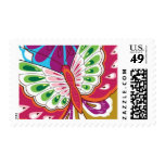 Lotus Butterfly Wings by Ceci New York Postage Stamp