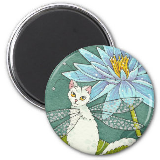 Lotus catterfly magnet