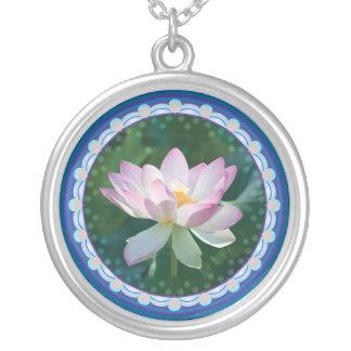 Lotus Circle #2521 Necklace