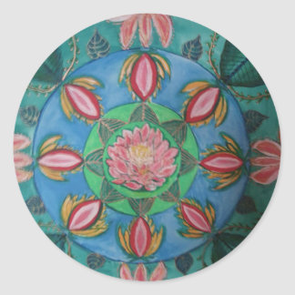 Lotus Classic Round Sticker