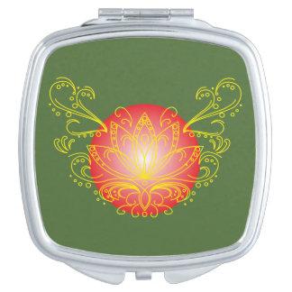Lotus Compact Mirror