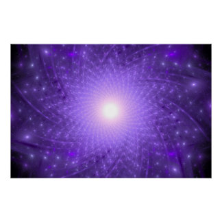 Lotus cósmico póster