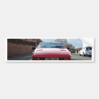 Lotus Eclat Front View Bumper Sticker