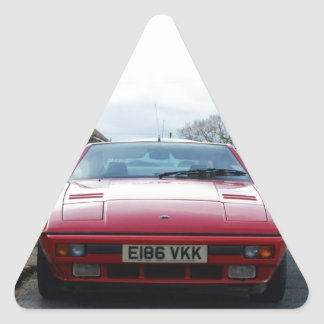 Lotus Eclat Front View Triangle Sticker