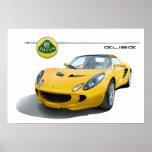 Lotus elise car poster