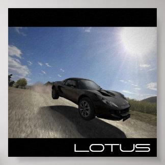 Lotus Elise Poster