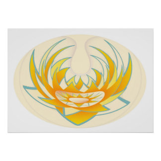 LOTUS Energy for healing Poster
