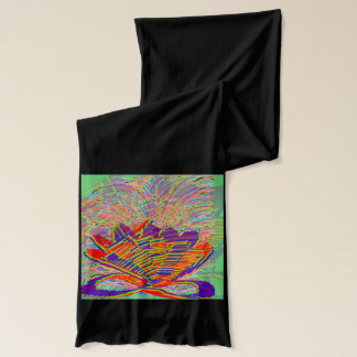 LOTUS Energy Graphic COLORmania  : WALK RUN SHOW Scarf