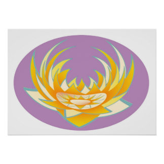 LOTUS Energy in Holy Purple Case Posters
