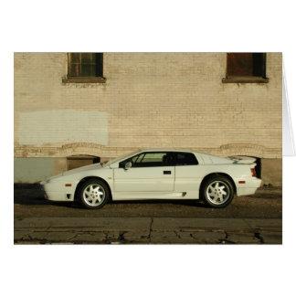 Lotus Esprit SE Card