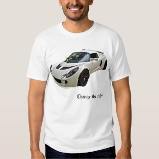 Lotus Exige - Change the rules - T-Shirt