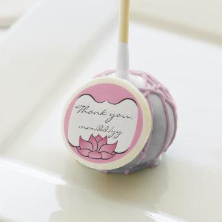 Lotus exquisito en estallido rosado de la torta