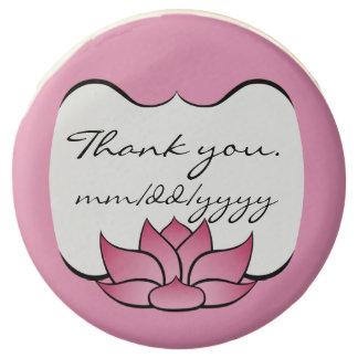 Lotus exquisito en Oreos sumergido rosado