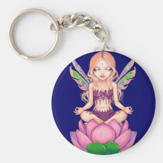 """Lotus Fairy"" Keychain"