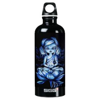Lotus Fairy Meditation Fantasy Water Bottle