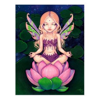"""""""Lotus Fairy"""" Postcard"""