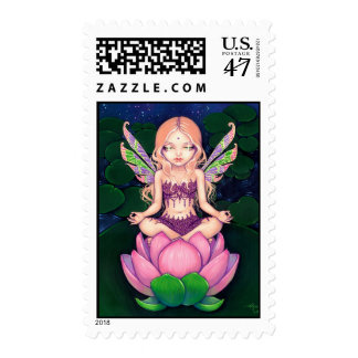 """Lotus Fairy"" Stamp"