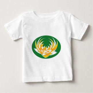 LOTUS Flame in Green Base Baby T-Shirt