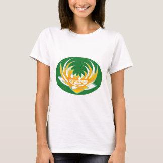LOTUS Flame in Green Base T-Shirt