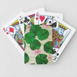 Lotus flor del 1 del este baraja de cartas