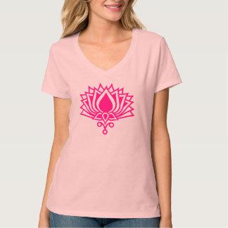Lotus flor - símbolo Erleuchtung Playera