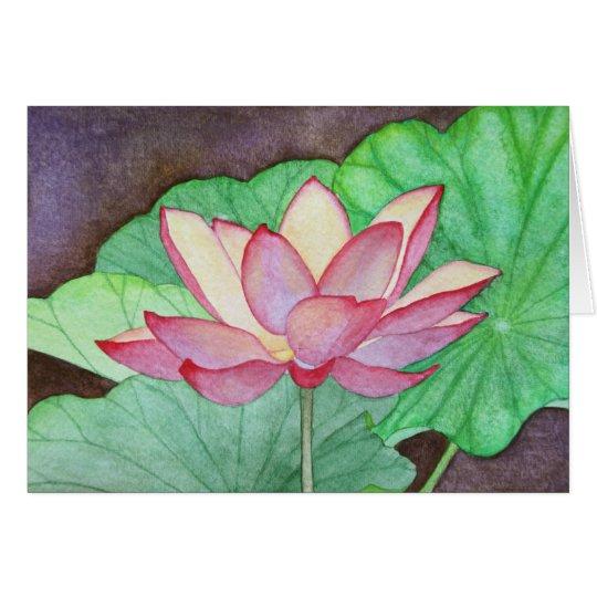 Lotus Flower #1 Greeting Card