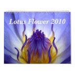 Lotus Flower 2010 Calendar