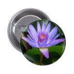 Lotus Flower 2 Inch Round Button