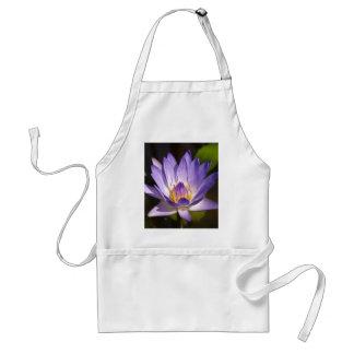 lotus  flower adult apron