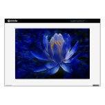 "Lotus flower and its meaning 15"" laptop decal"