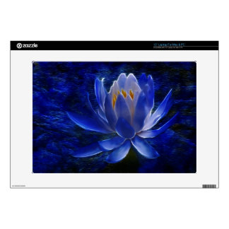"""Lotus flower and its meaning 15"""" laptop decal"""