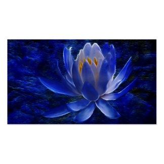 Lotus flower and its meaning business card