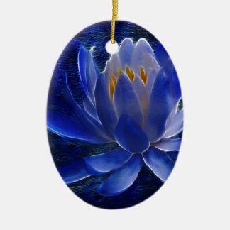 Lotus flower and its meaning ceramic ornament