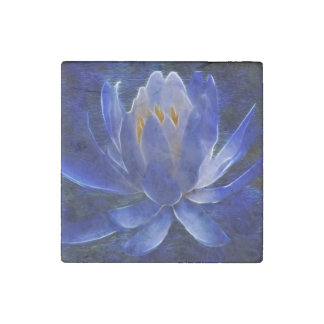 Lotus flower and its meaning stone magnet