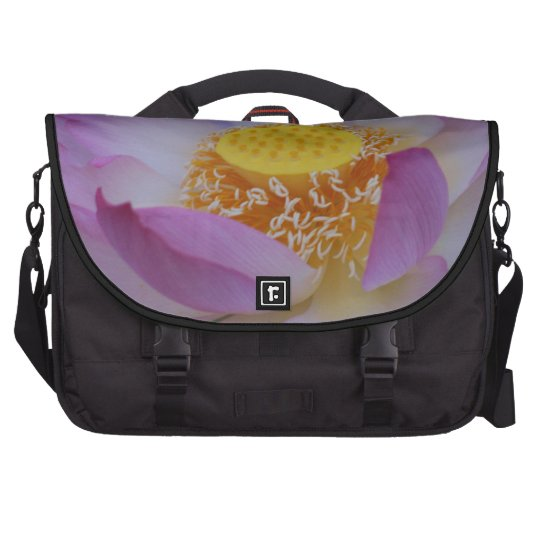 Lotus flower and its meaning laptop commuter bag