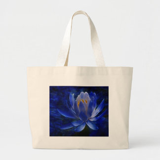 Lotus flower and its meaning large tote bag