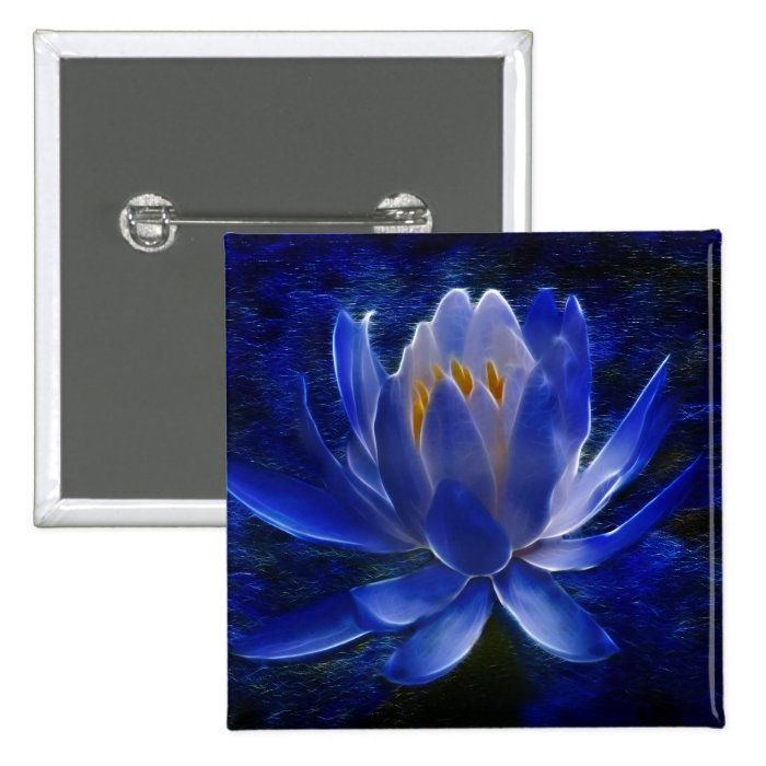 Lotus flower and its meaning pinback button