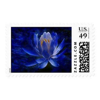 Lotus flower and its meaning postage