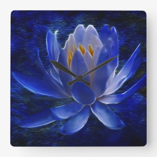 Lotus flower and its meaning square wallclocks