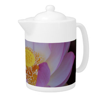 Lotus flower and its meaning teapot