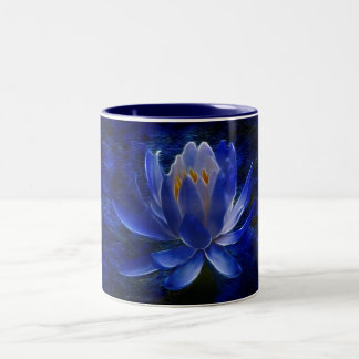 Lotus flower and its meaning Two-Tone coffee mug