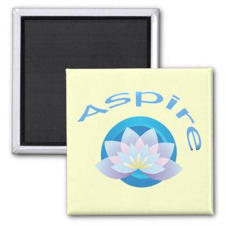 Lotus Flower - Aspire Magnet