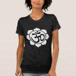 Lotus Flower Aum Symbol Shirts