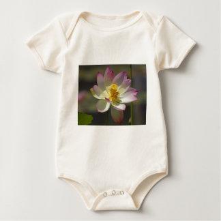 lotus-flower baby bodysuit