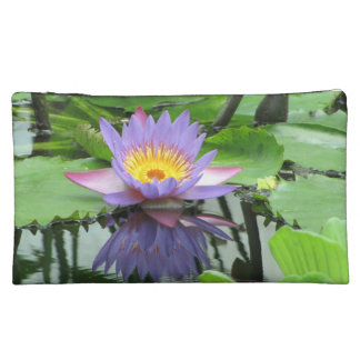 Lotus Flower Cosmetic Bag