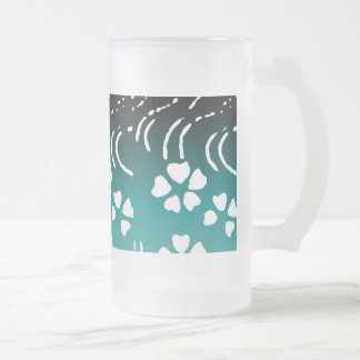Lotus Flower Beer Stein