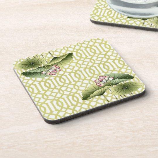 Lotus Flower Beverage Coaster