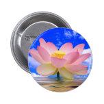 Lotus Flower Born in Water 2 Inch Round Button