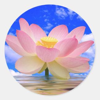 Lotus Flower Born in Water Sticker